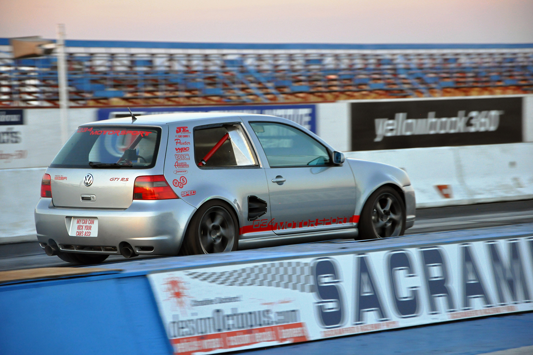 034Motorsport GTI-RS Drag Race Launch
